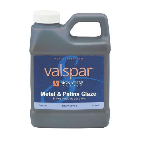 valspar signature colors pint size container interior satin silver base paint actual net