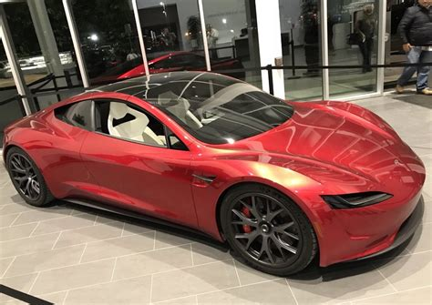 Tesla Car : The Upcoming Tesla Roadster Is A Dream Come True For Cgi