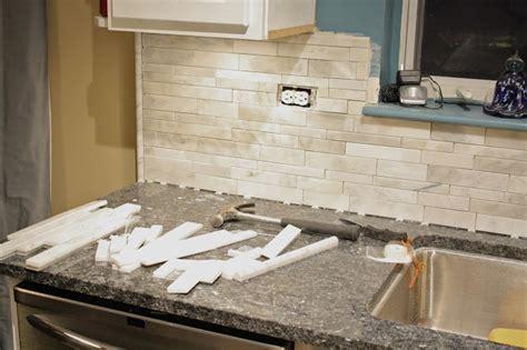 pencil tile to finish backsplash kitchen ideas