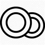 Plates Icon Kitchen Dishes Cooking Open Icons