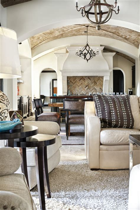 Texas Chic   Mediterranean   Living Room   austin   by