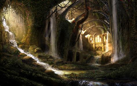 Permalink to Fantasy Landscape Wallpaper Hd