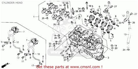 big image of cylinder head schematic