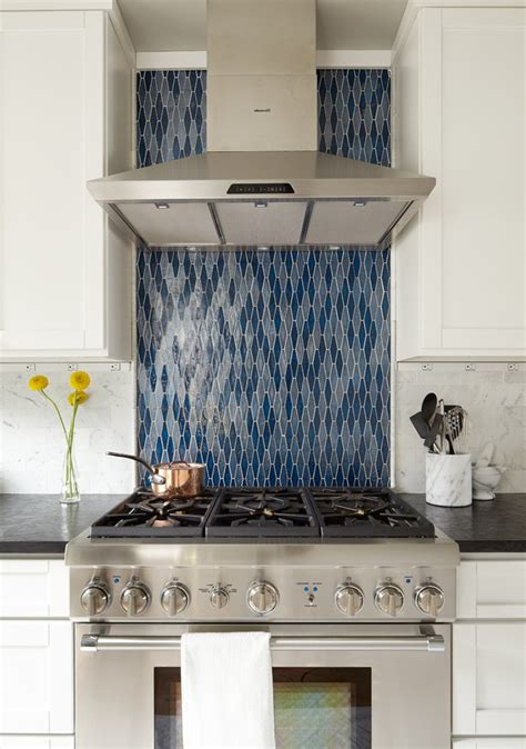 astonishing ann sacks glass tile backsplash  galley