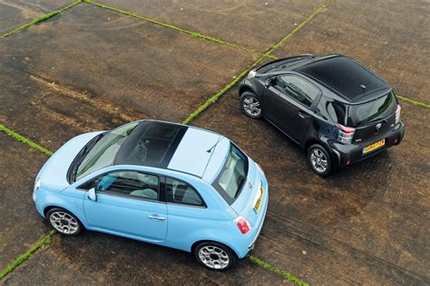 Fiat 500 Twinair Vs Toyota Iq  Car Group Tests Auto