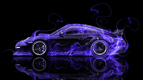 Free Cars Wallpapers Downloads Pink by Porsche 911 Gt2 Side Abstract Car 2014 El Tony
