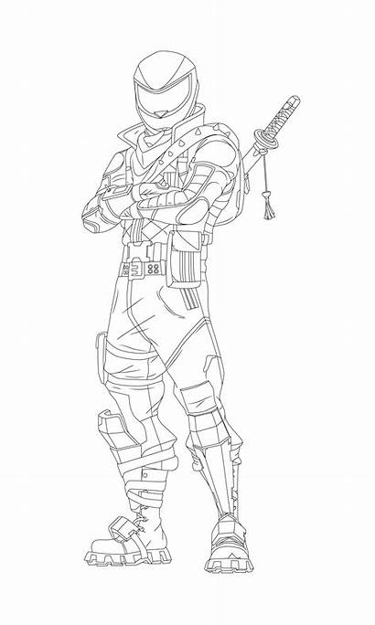 Fortnite Coloring Pages Overtaker Skin Boss Beef