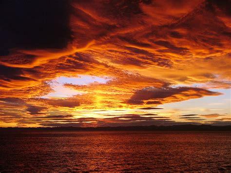 orange sky wallpaper gallery