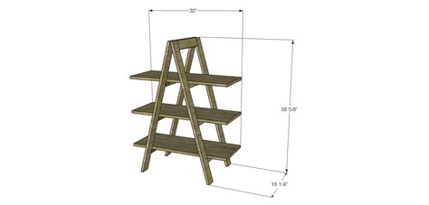 build  ladder bookshelf