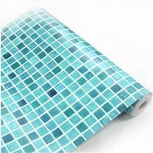 Auto adhesif rouleau de papier peint etanche stickers for Carrelage adhesif salle de bain avec rouleau de led etanche