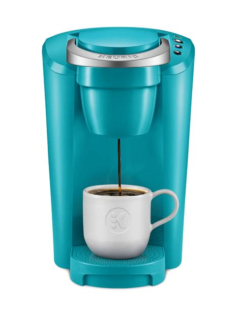 Single serve coffee makers are easy to keep clean, with fewer parts compared to drip coffee makers. Keurig K-Compact Single-Serve K-Cup Pod Coffee Maker, Turquoise - Walmart.com