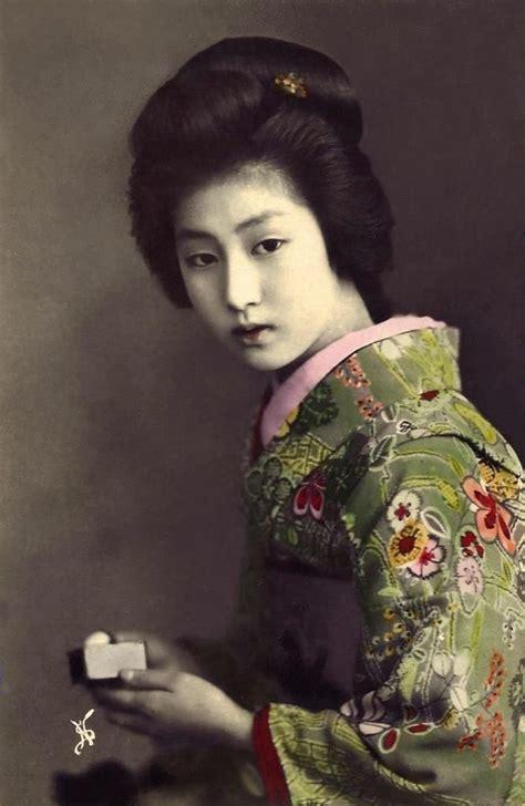 images  vintage geisha  pinterest