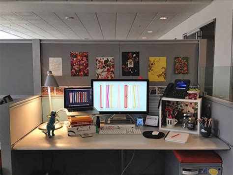 Ideas Your Office Cubicle by 54 Ways To Make Your Cubicle Less Desktop