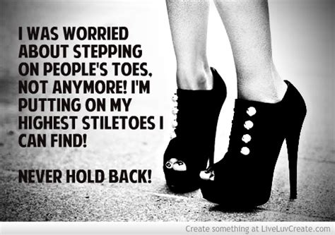 quotes  stepping  toes quotesgram