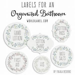Bath and Body Organizing Labels Worldlabel Blog
