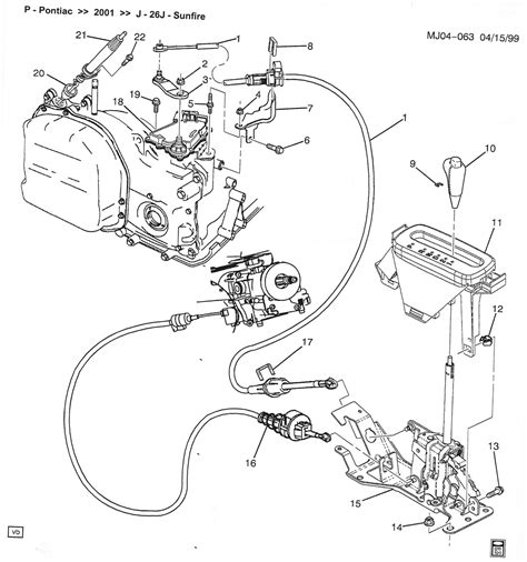 2000 Chevy Tahoe Transmission Diagram by Chevrolet Cavalier Questions How To Repair My Shifter