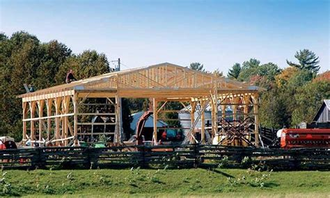 how to build pole shed 153 pole barn plans and designs that you can actually build