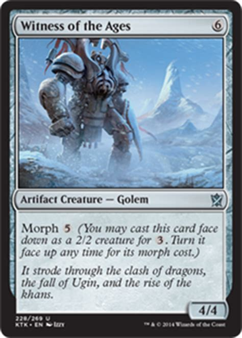 Mtg Morph Deck Blue Green by Ugin The Spirit Magic The Gathering