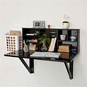 Wall Mounted Desk Cabinet
