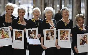 Calendar girls strip off for charity again - Telegraph