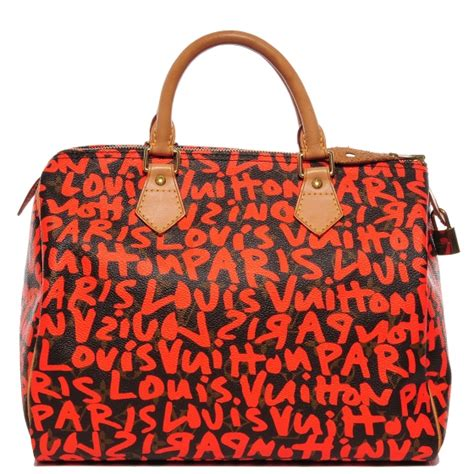 authenticating  limited edition monogram graffiti speedy