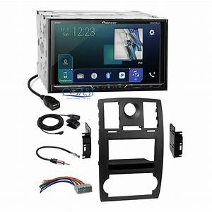Pioneer 2018 Dvd Sirius Gps Ready Dash Kit Harness For