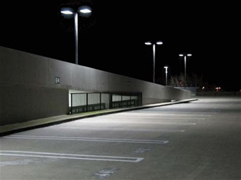 parking lot lighting induction parking garage lighting systems synergy lighting