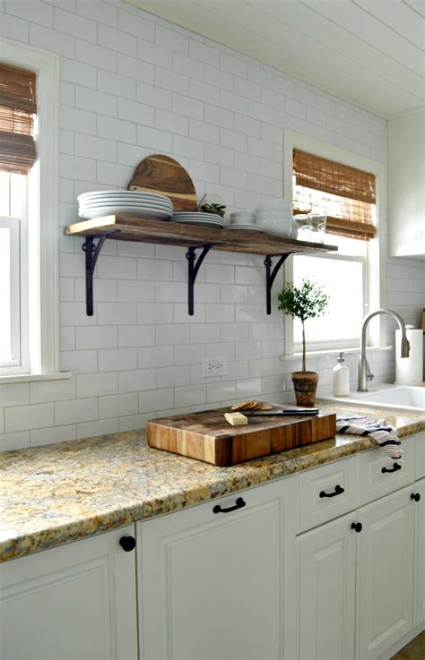 Built In Open Kitchen Shelving by Open Kitchen Shelving
