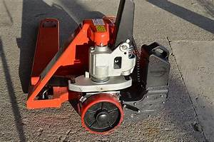 Powerpallet Manual Pallet Jack Converter With Dual Drive Wheel