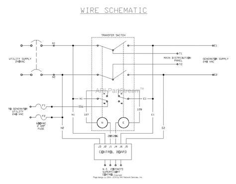 generac gts transfer switch wiring diagram circuit