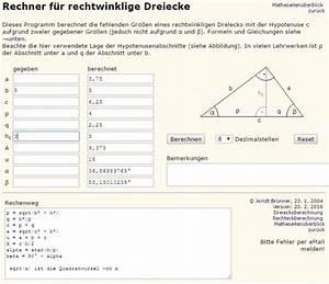 Diagonale Eines Quadrats Berechnen : rechter winkel berechnen rechten winkel ermitteln frag ~ Themetempest.com Abrechnung