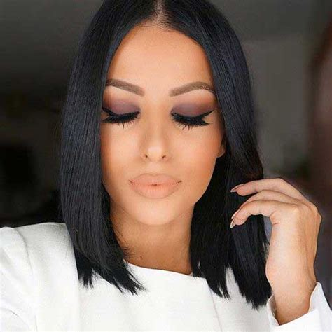 Color Hairstyles For Black Hair by 15 Black Color Hairstyles Hairstyles Haircuts 2016 2017