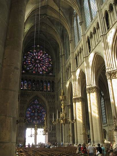 Reims Cathedral Interior Nave History Dame Notre