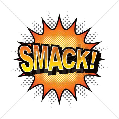 Smack Comic Speech Bubble Vector Image