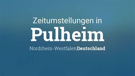 In der nacht auf den 28. Zeitumstellung 2021: Sommerzeit in Pulheim, Nordrhein ...