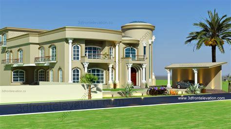 3D Front Elevation.com: Beautiful Modern Villa Design 2015