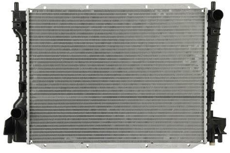 jaguar  type lincoln ls ford thunderbird radiator sunbelt  sbr