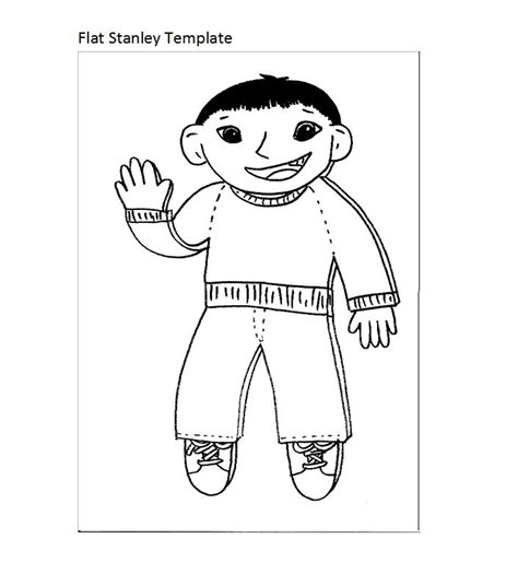 Flat Stanley Template 37 Flat Stanley Templates Letter Exles Free