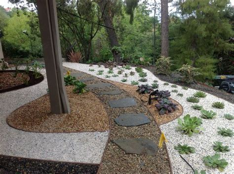 1000 ideas about gravel landscaping on gravel