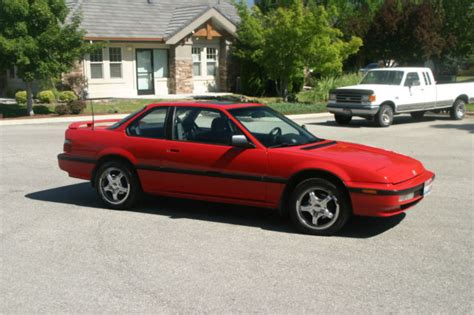 Honda Prelude Coupe 1990 Red For Sale. Jhmba4142lc019570