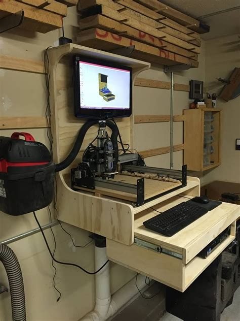 computercnc workstation jeffs board pinterest cnc