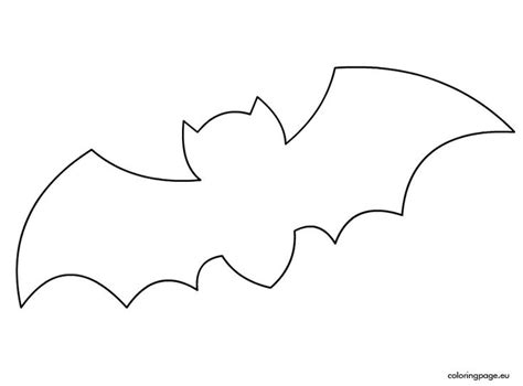 bat template halloween bat template halloween