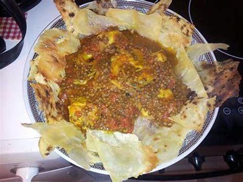 curcuma cuisine recette de sael r 39 fissa plat marocain poulet lentilles