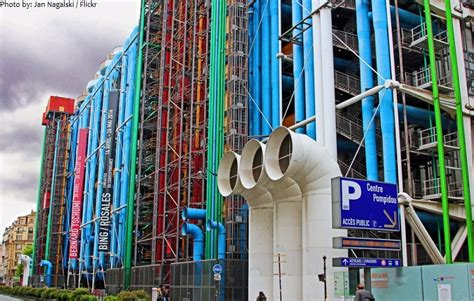 one floor house plans facts about the centre pompidou just facts
