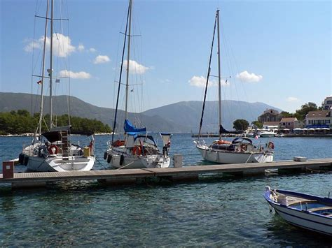 Yacht charters in the Ithaca and Fiskardo port