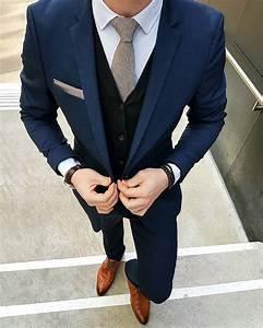 Blauer Anzug Schwarze Krawatte : grauer anzug krawatte 1001 ideen thema grauer anzug welches hemd passt dazu grauer anzug ~ Frokenaadalensverden.com Haus und Dekorationen