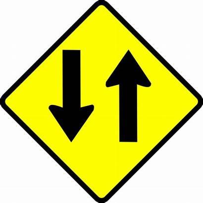 Way Caution Clip Street Clipart Clker Vector