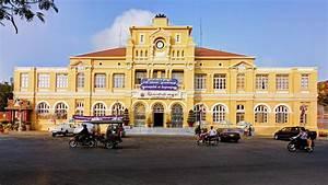 Cambodia Post | Phnom Penh's Post Office Square was made ...