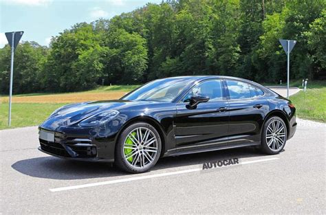 Sensible as well as thrilling. Porsche Panamera 2020 facelift spotted barely disguised | Autocar