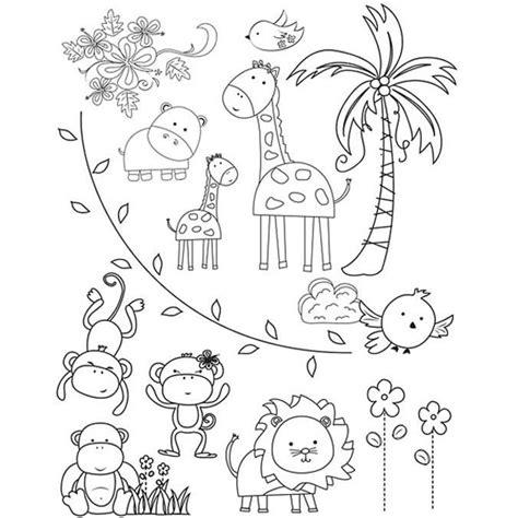 immagini da colorare e stare di animali immagini di animali da stare e colorare per bambini